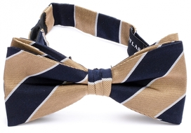 Bow Tie Striped Beige 33407-506