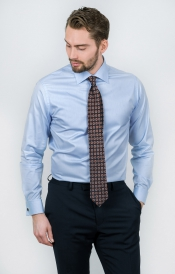 Skjorta | Ljusblå | Slim Fit